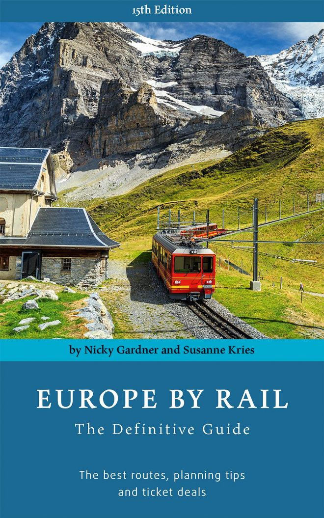 Europe by Rail Guidebook (by Nicky Gardner & Susanne Kries)